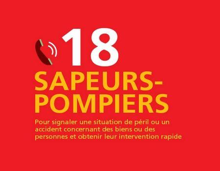 POMPIER COMPOSEZ LE 18